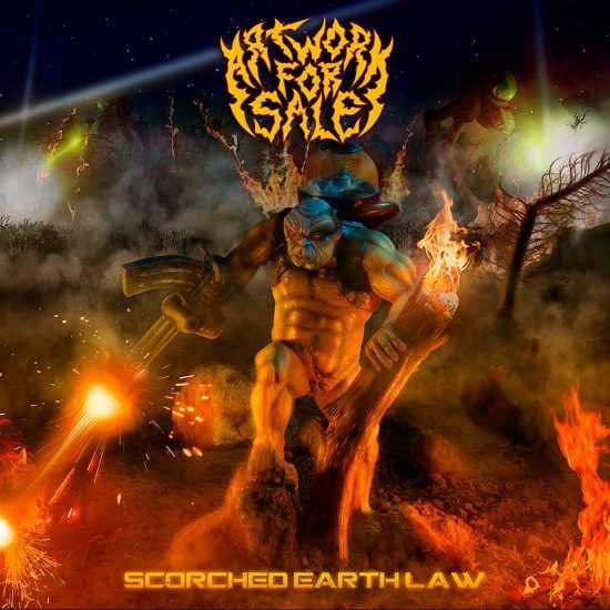 Scorched Earth Law album cover for sale