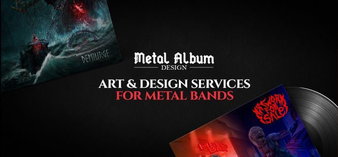 design and illustration services for metal bands special offers