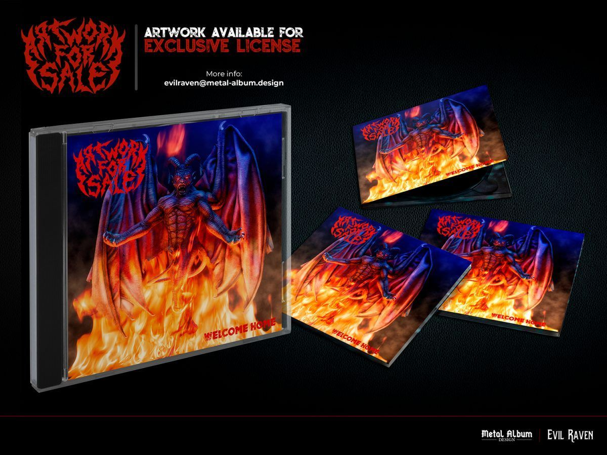 Welcome home heavy metal album art for sale