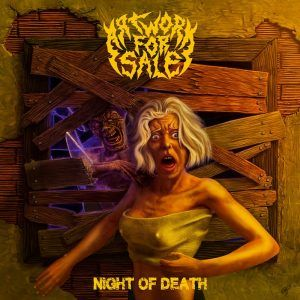 Night of Death - Horror punk - metal classic horror art for sale