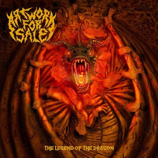 The Legend of The Dragon heavy metal cover art